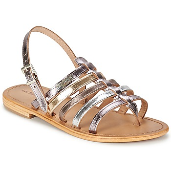 Zapatos Mujer Sandalias Les Tropéziennes par M Belarbi HERISSON Plateado / Multicolor