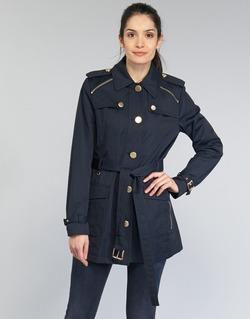 textil Mujer trench MICHAEL Michael Kors ZIPPER YOKE TRENCH Marino