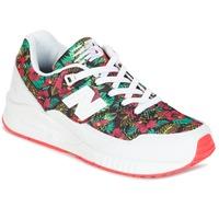 Zapatos Mujer Zapatillas bajas New Balance W530 Verde / Rojo