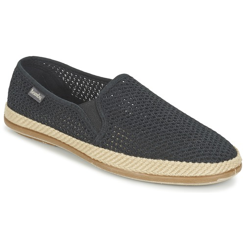 Zapatos Hombre Alpargatas Bamba By Victoria COPETE ELASTICO REJILLA TRENZA Negro