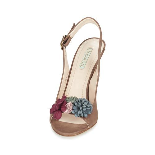 Mujer Marrón Sandalias Paco Gil Brazil Zapatos m8ONyn0vw
