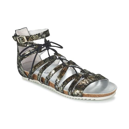 Los zapatos más populares para hombres y mujeres Zapatos especiales Regard RABAZO Negro / Plata