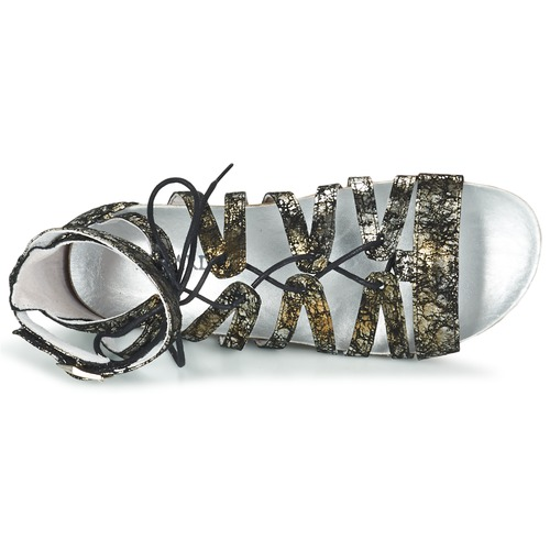 Regard NegroPlata Zapatos Sandalias Mujer Rabazo ZuTOPXik