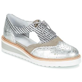 Zapatos Mujer Derbie Regard RYXA Plata