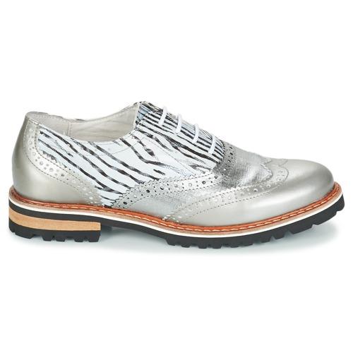 Mujer Regard Plata Roaxa Zapatos Derbie 80PXnwkO