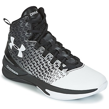 Zapatos Hombre Baloncesto Under Armour UA ClutchFit Drive 3 Negro / Blanco