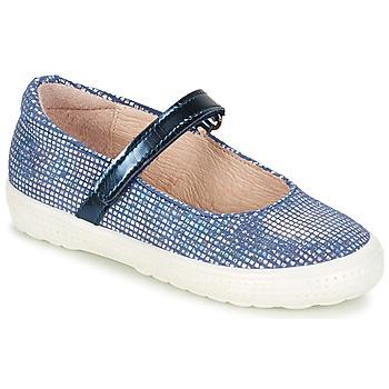 Zapatos Niña Bailarinas-manoletinas Acebo's SIULO Marino