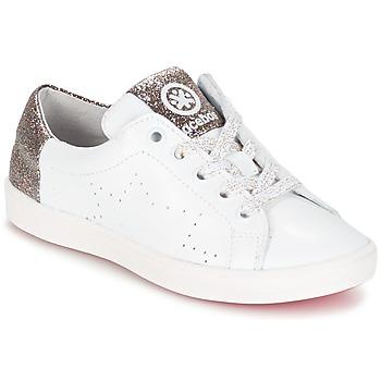 Zapatos Niña Zapatillas bajas Acebo's SOUDIN Blanco