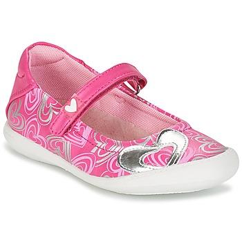 Zapatos Niña Bailarinas-manoletinas Agatha Ruiz de la Prada BALOIN Rosa