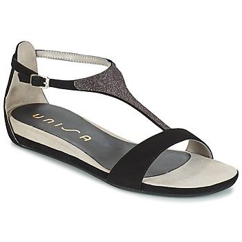 Zapatos Mujer Sandalias Unisa APICE Negro
