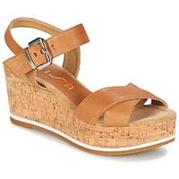 Zapatos Mujer Sandalias Unisa KARPI Beige