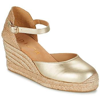 Zapatos Mujer Sandalias Unisa CACERES Plateado