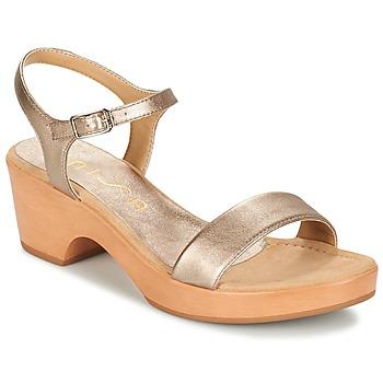 Zapatos Mujer Sandalias Unisa IRITA Oro
