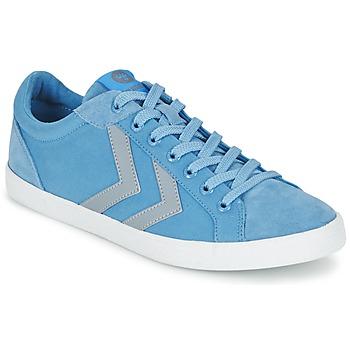 Zapatos Zapatillas bajas Hummel DEUCE COURT SUMMER Azul / Gris