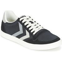 Zapatos Zapatillas bajas Hummel TEN STAR DUO CANVAS LOW Negro / Gris