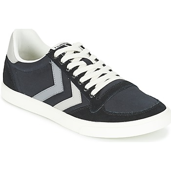 Zapatos Zapatillas bajas Hummel TEN STAR DUO CANVAS LOW Negro / Gris