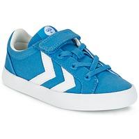Zapatos Niños Zapatillas bajas Hummel DEUCE COURT JR Azul