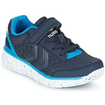 Zapatos Niños Zapatillas bajas Hummel CROSSLITE JR Marino