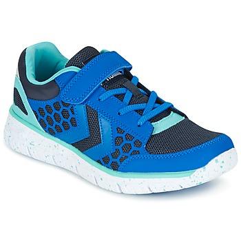 Zapatos Niños Zapatillas bajas Hummel CROSSLITE JR Azul