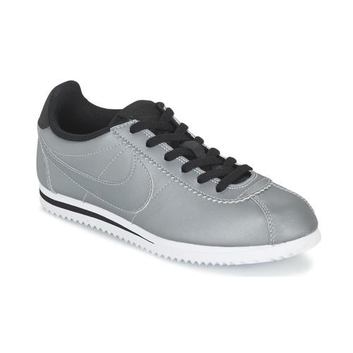 Zapatos Niño Zapatillas bajas Nike CORTEZ PREMIUM JUNIOR Gris