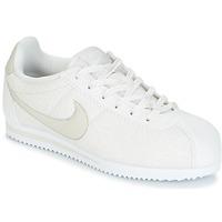 Zapatos Niña Zapatillas bajas Nike CORTEZ LEATHER SE JUNIOR Beige