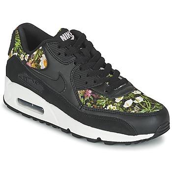 Zapatos Mujer Zapatillas bajas Nike AIR MAX 90 SE W Negro