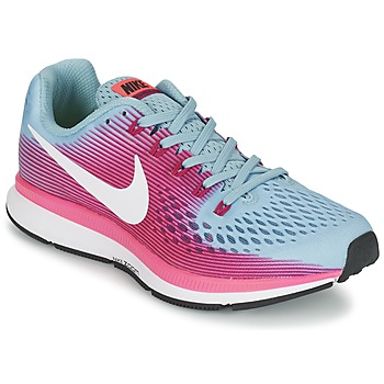 Zapatos Mujer Running / trail Nike AIR ZOOM PEGASUS 34 Azul / Fucsia