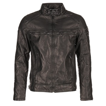 textil Hombre Chaquetas de cuero / Polipiel Deeluxe SPANGLE Negro