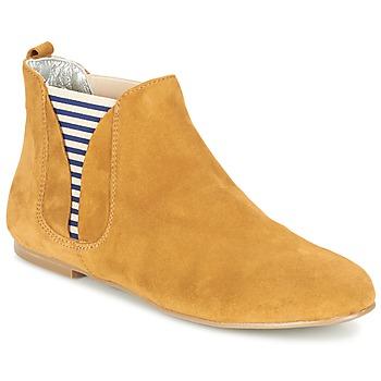 Zapatos Mujer Botas de caña baja Ippon Vintage SUN FLYBOAT Ocre
