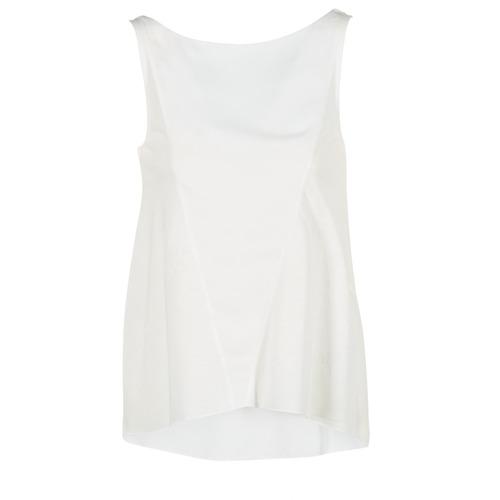 textil Mujer camisetas sin mangas Desigual ROMINESSA Blanco