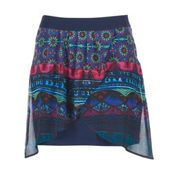 textil Mujer Faldas Desigual RASSENIO Marino