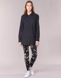 textil Mujer leggings Desigual CAMIOLES Negro / Gris