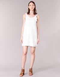 textil Mujer vestidos cortos Desigual KERASO Blanco