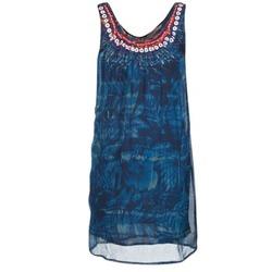 textil Mujer vestidos cortos Desigual LIORISE Azul
