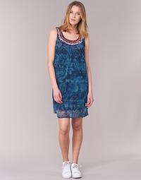 textil Mujer vestidos cortos Desigual LIORASE Azul
