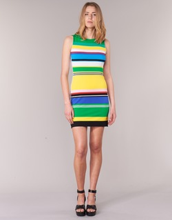 textil Mujer vestidos cortos Desigual LIURASE Multicolor