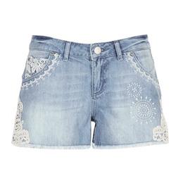 textil Mujer Shorts / Bermudas Desigual MARTES Azul