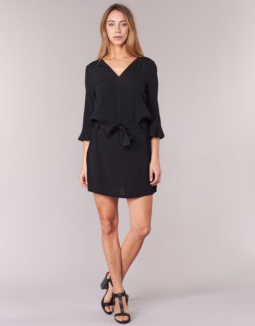 U See Textil Vestidos Cortos 7121032 Soon Mujer Negro N0Ok8PnwX
