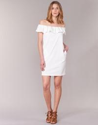 textil Mujer vestidos cortos See U Soon 7123017 Blanco