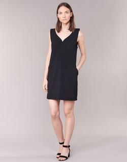 textil Mujer vestidos cortos See U Soon 7121047 Negro