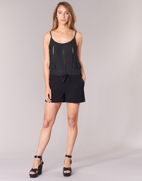 7191003 U See Textil Mujer Soon MonosPetos Negro H2IeDW9EY