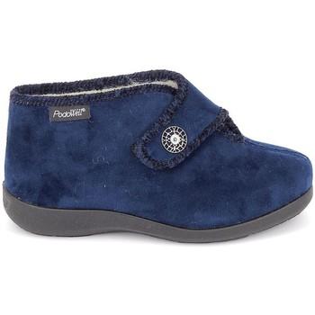 Zapatos Mujer Pantuflas Fargeot Caliope marine Azul