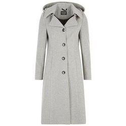 textil Mujer plumas De La Creme laine Cachmeier Manteau Grey