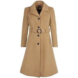 textil Mujer Abrigos De La Creme laine Cachmeier Manteau Beige