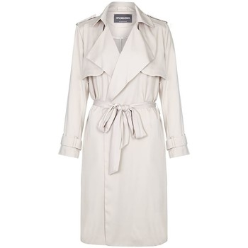 textil Mujer trench Anastasia  BEIGE