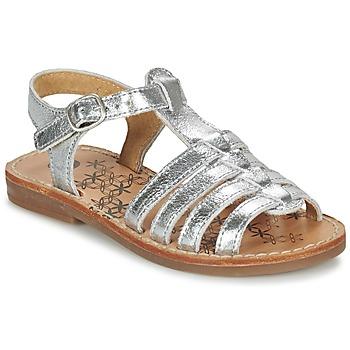 Zapatos Niña Sandalias Babybotte YLONA Plata