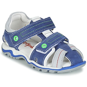 Zapatos Niño Sandalias Babybotte KARTER Azul / Verde / Gris