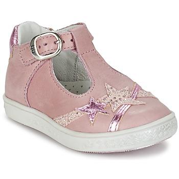 Zapatos Niña Bailarinas-manoletinas Babybotte STARMISS Rosa