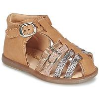 Zapatos Niña Bailarinas-manoletinas Babybotte TWIX Camel