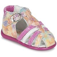 Zapatos Niña Sandalias Babybotte GUPPY Rosa / Multicolor